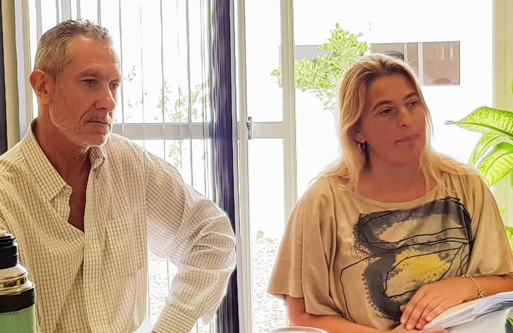 Reunión con Lucrecia Barruti