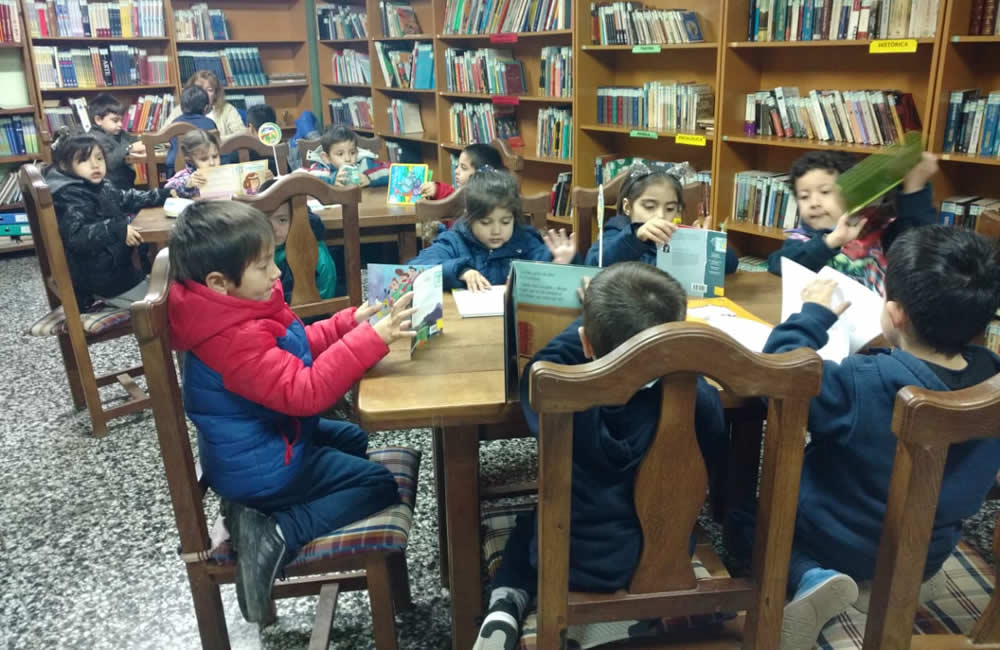 Visitas en la Biblioteca Social