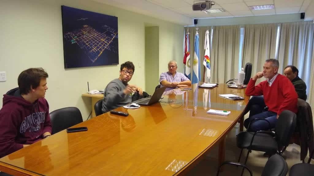 Visita a la Cooperativa de Provisión de Obras y Servicios Públicos Ltda. (Armstrong)