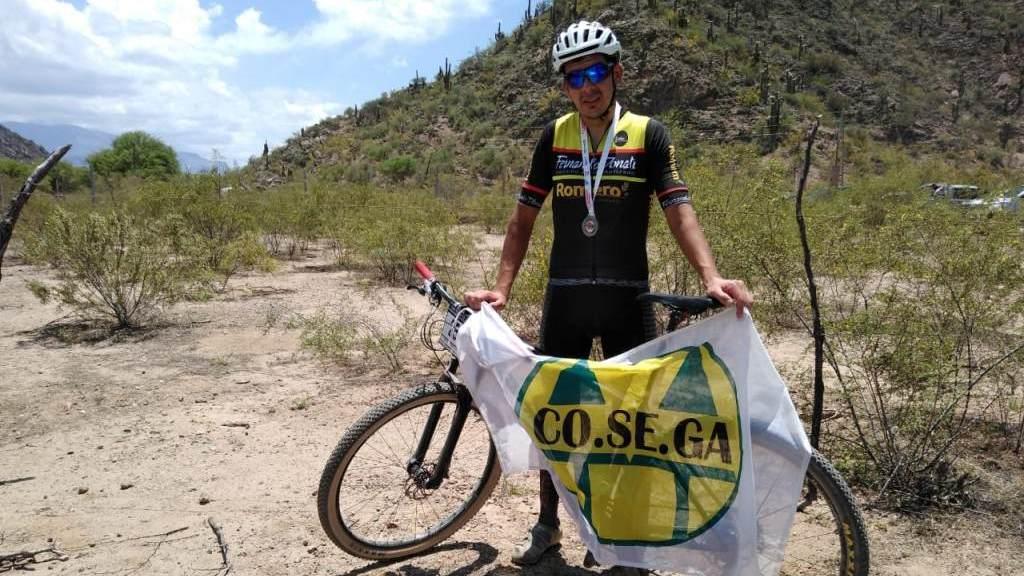 Ciclista Elías Spon