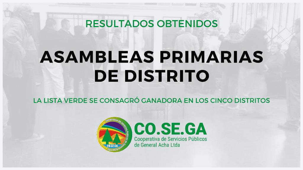 Asambleas Primarias de Distrito