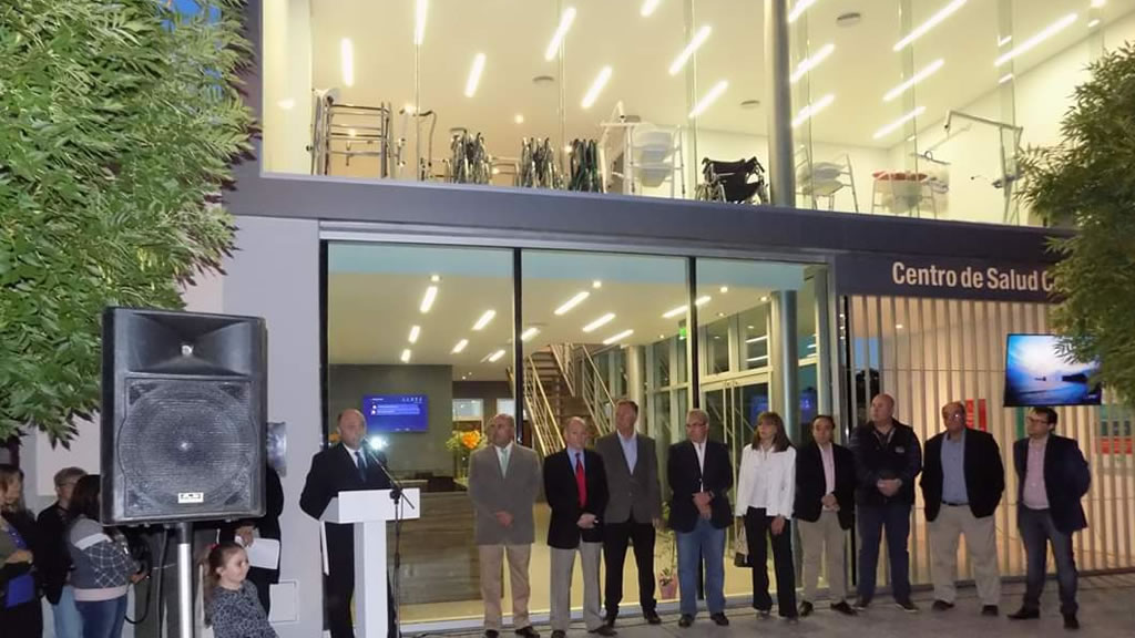 Inauguración de Centro de Salud Cooperativo en Macachín