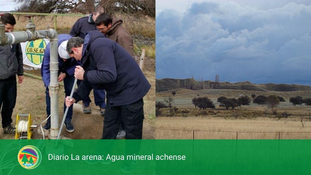 Diario La arena: Agua mineral achense