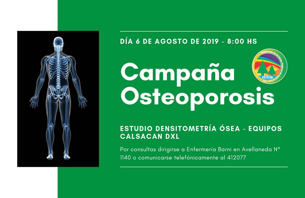 Campaña Osteoporosis (Enfermería)
