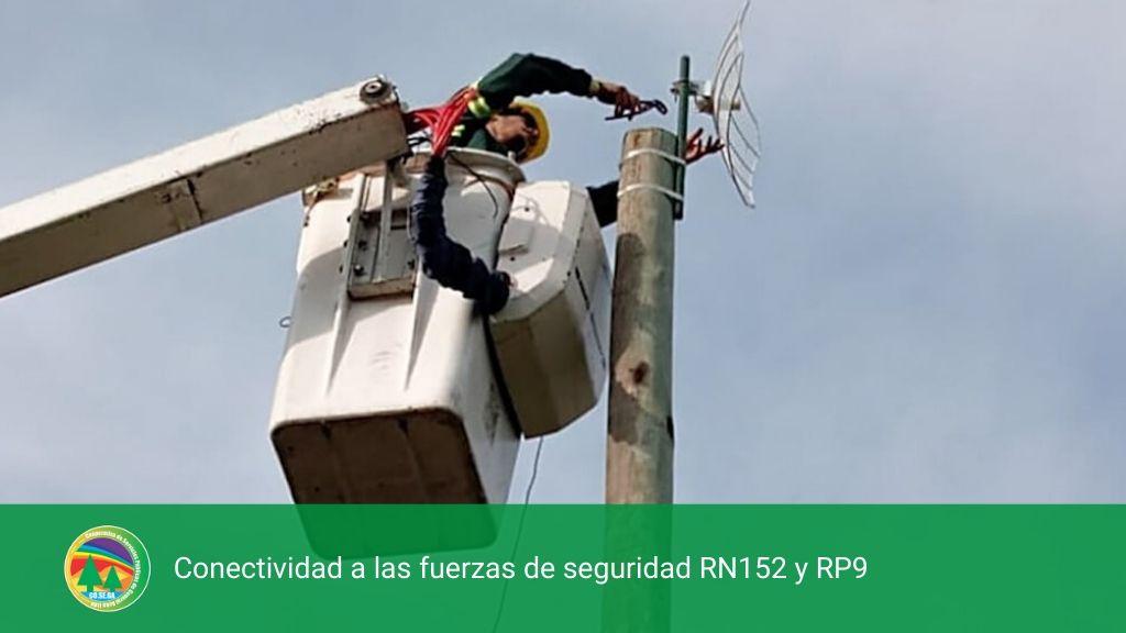 Conectividad a las fuerzas de seguridad RN152 y RP9