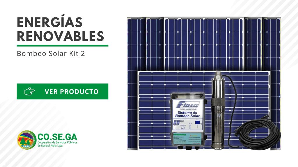 Bombeo Solar Kit 2