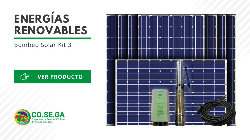 Bombeo Solar Kit 3