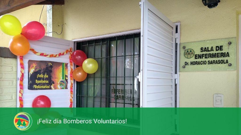 Feliz día Bomberos Voluntarios