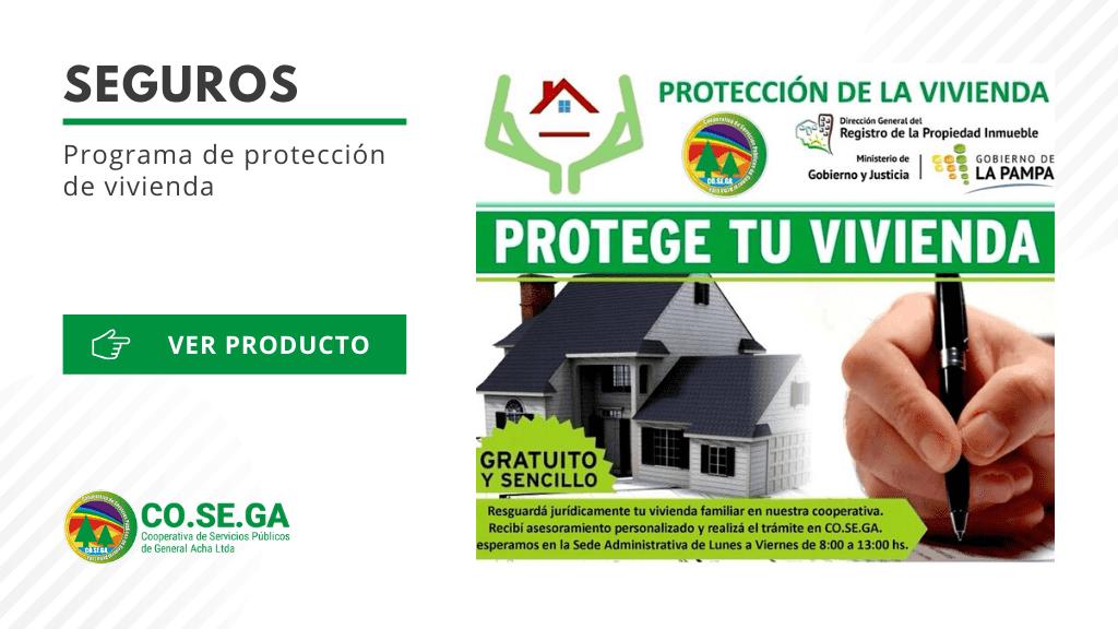 Programa de protección de vivienda