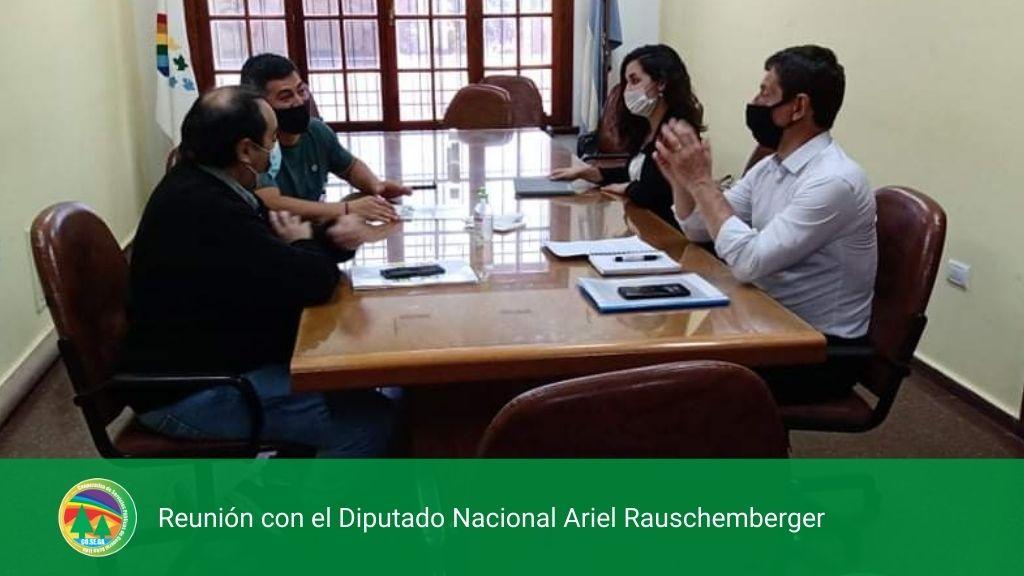 REUNIÓN CON EL DIPUTADO NACIONAL ARIEL RAUSCHEMBERGER