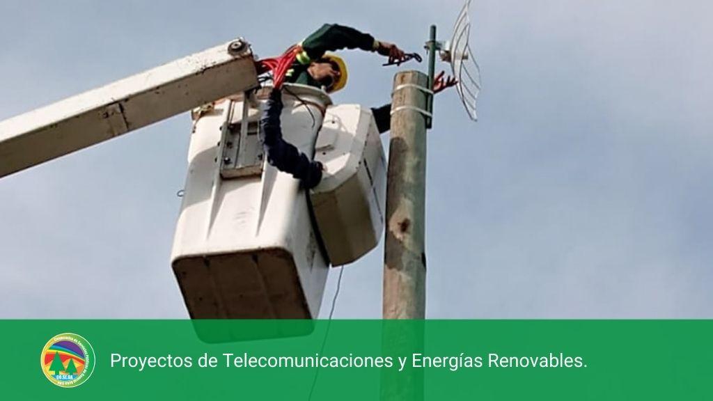 PROYECTOS DE TELECOMUNICACIONES Y ENERGÍAS RENOVABLES..