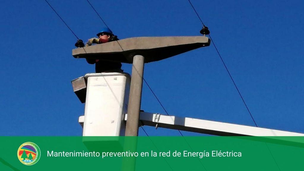MANTENIMIENTO PREVENTIVO EN LA RED DE ENERGÍA ELÉCTRICA