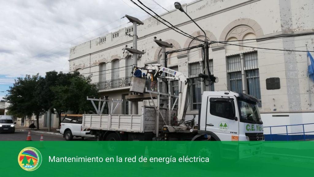 MANTENIMIENTO EN LA RED DE ENERGÍA ELÉCTRICA