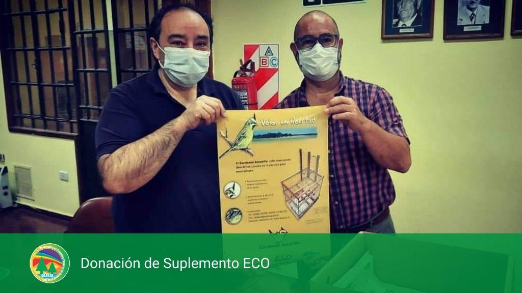 Donación de Suplemento ECO.