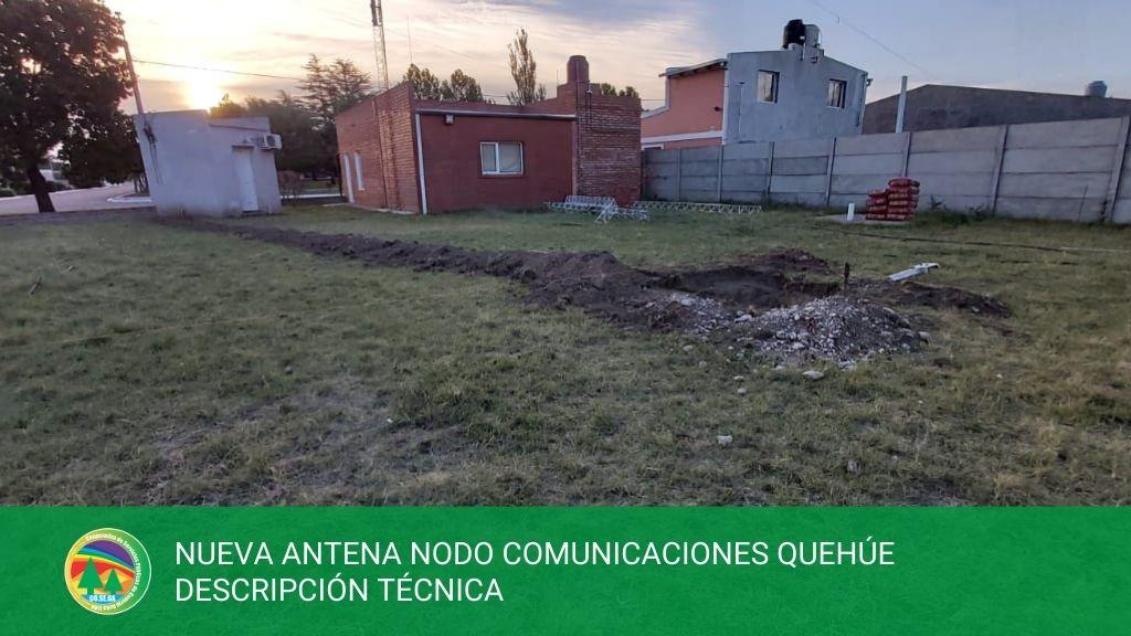 NUEVA ANTENA NODO COMUNICACIONES QUEHÚE – DESCRIPCIÓN TÉCNICA.